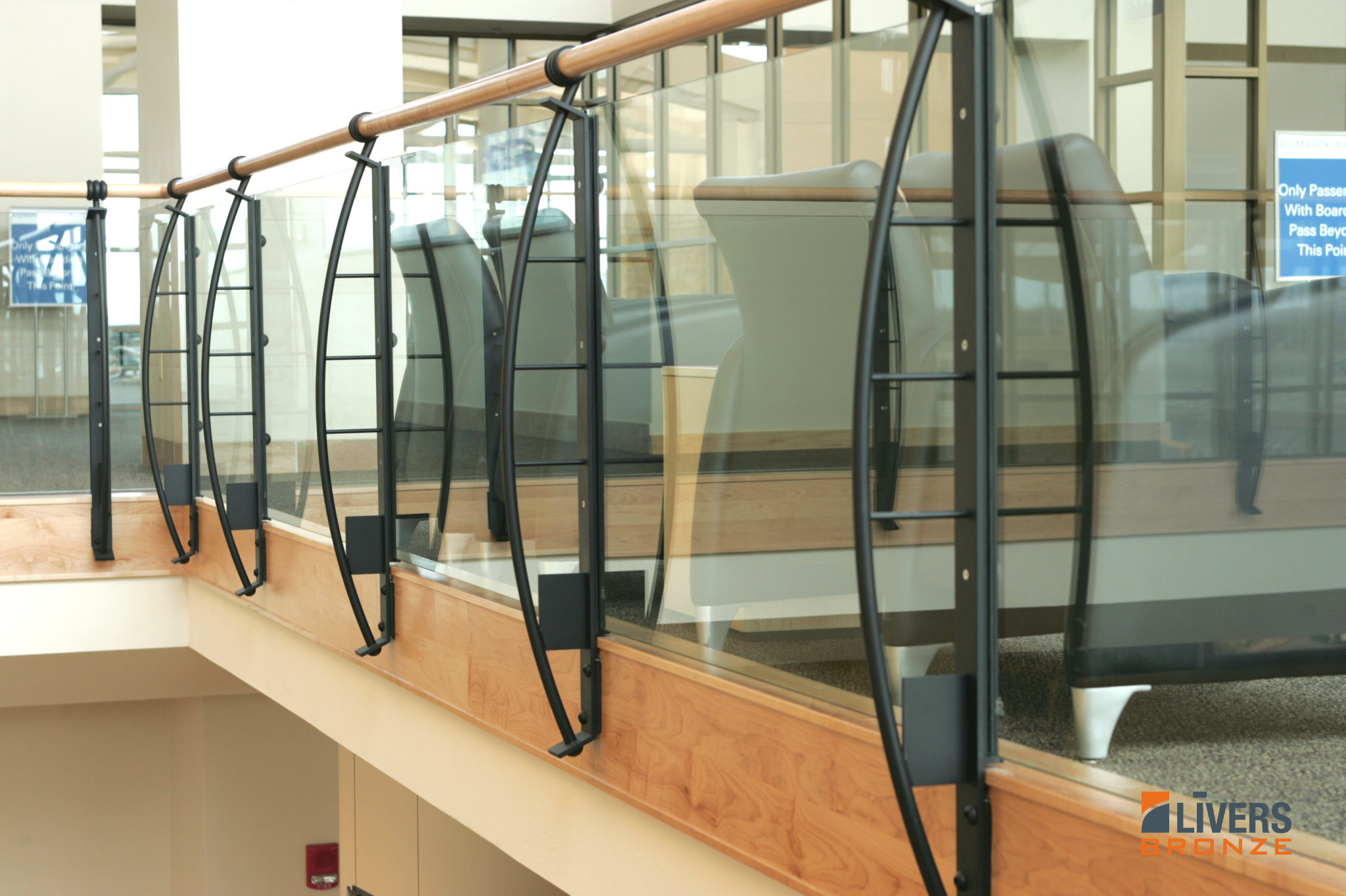 Arc | Railing Systems | Livers Bronze Railing Systems