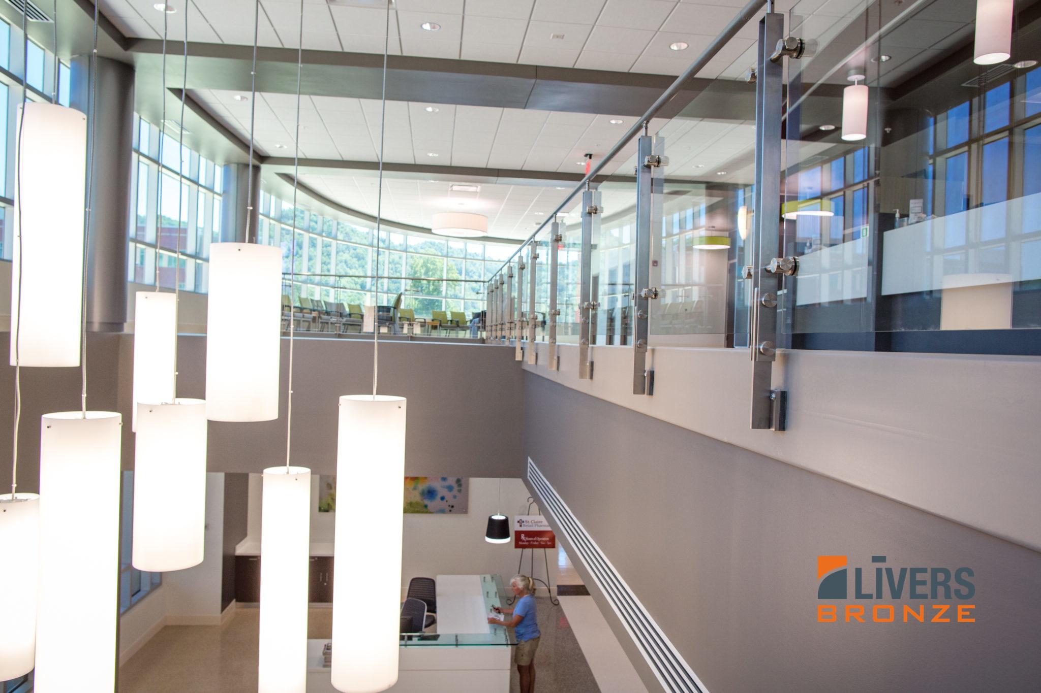 St Clair Healthcare Medical Pavilion Razor Railing System Livers
